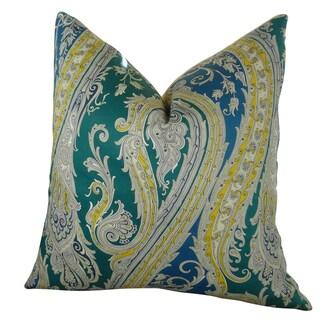 Plutus Fun Paisley Handmade Double Sided Throw Pillow