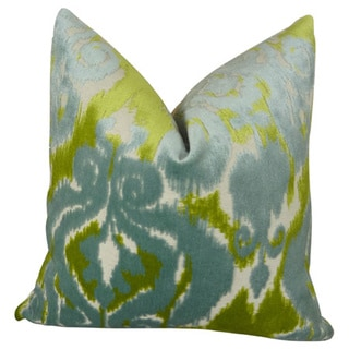 Plutus Velvet Bliss Water Handmade Throw Pillow