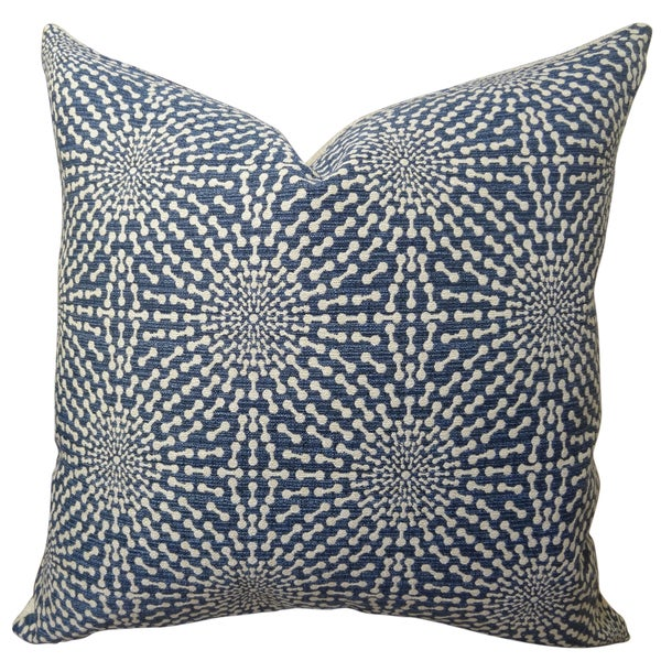 Plutus Bluebell Handmade Throw Pillow