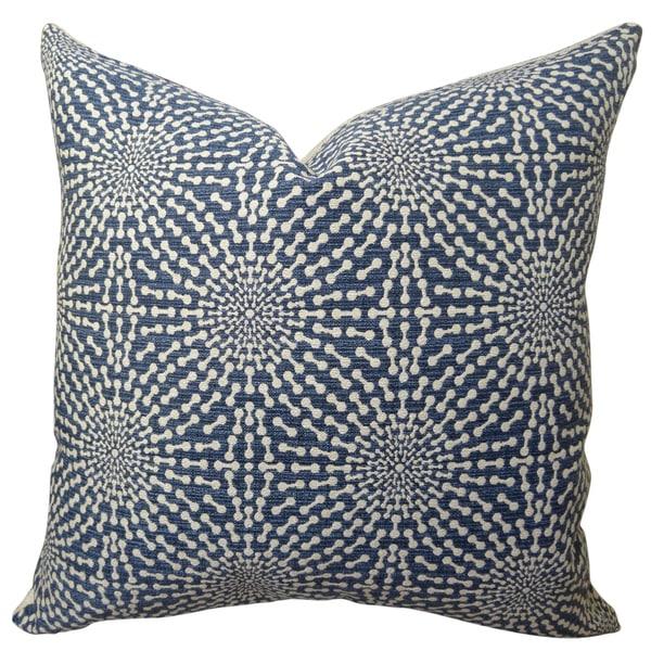 Plutus Bluebell Handmade Throw Pillow