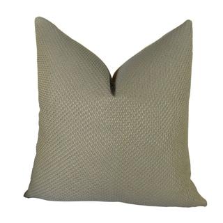 Plutus Mancuso Rain Handmade Double Sided Throw Pillow