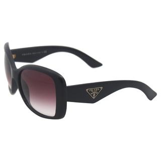 Prada Women's SPR 32P 1AB4V1 Black Sunglasses