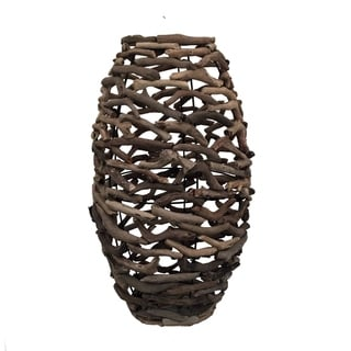 Driftwood Network Vase Large Natural