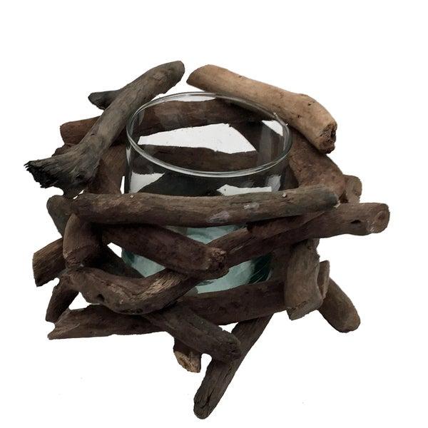 Driftwood Network Votive Natural