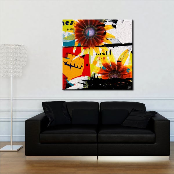 Ready2HangArt 'Painted Petals LXVI' Canvas Art