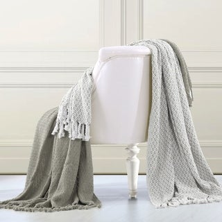 100-percent Cotton Mosaic Throws (Set of 2)