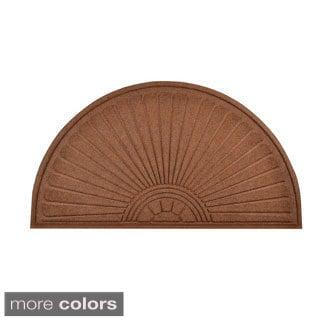HomeTrax Designs Guzzler Sunburst Door Mat (36-inch x 70-inch)