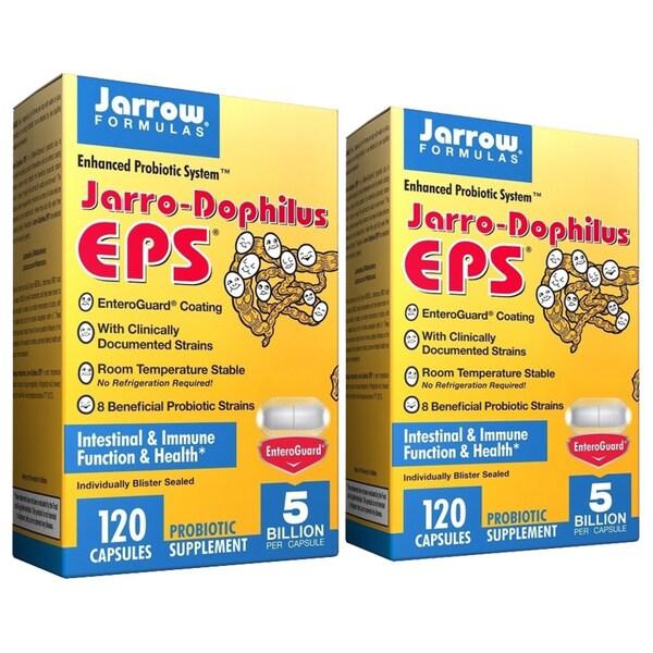 Jarrow Formulas 120-Capsule Jarro-Dophilus EPS (Pack of 2)