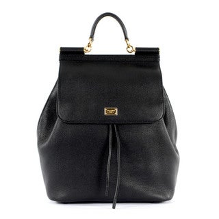 Dolce & Gabbana Leather Small Backpack
