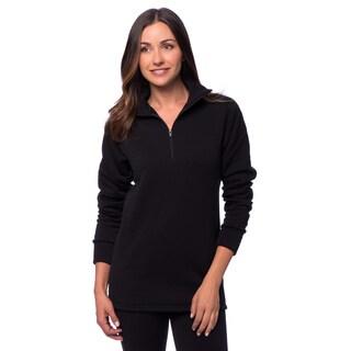 Kenyon Women's Polartec Power Stretch Wool Zip Top