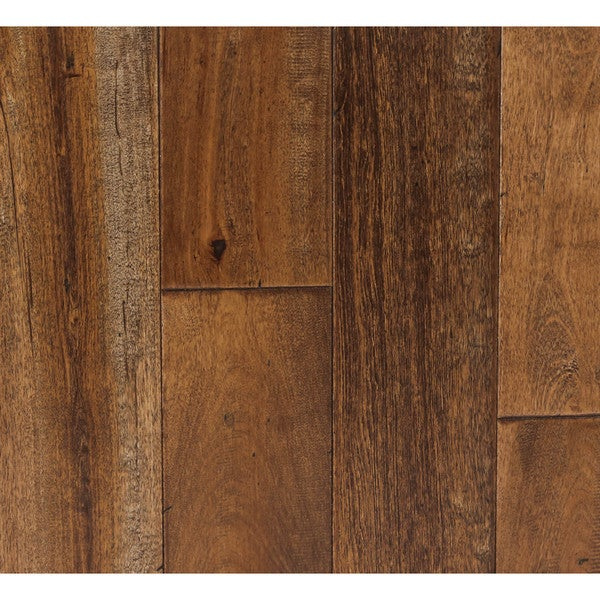 Somette Novi Maple Series Distressed Lowland Brown Solid Hardwood Flooring (23.63 Sq Ft)