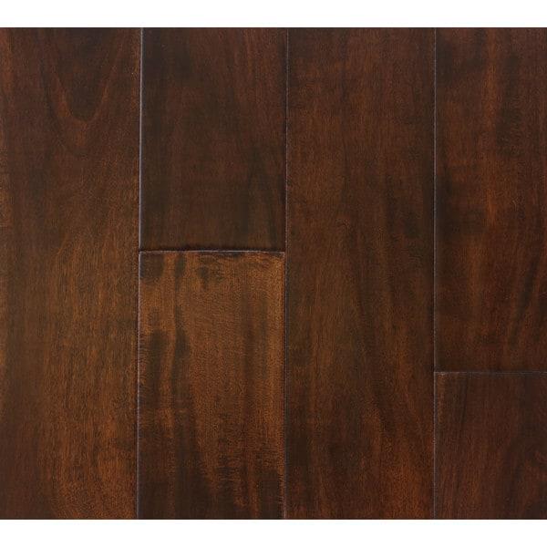 The Somette Bremond Acacia Series Coffee Engineered Hardwood Flooring (31 Sq Ft)