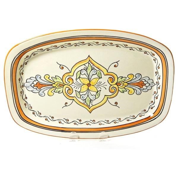 Le Souk Ceramique Salvena Design Rectangular Platter