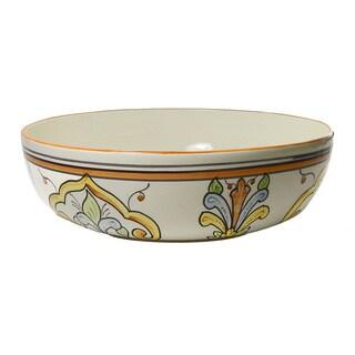 Le Souk Ceramique Salvena Design Wide Salad/ Pasta Bowl