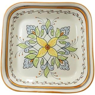 Le Souk Ceramique Salvena Design Square Serving Bowl