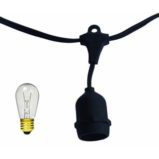 15-light Metro Light with Clear Bulbs