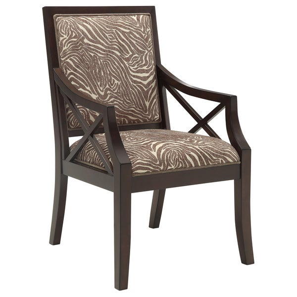Christopher Knight Home Animal Print Accent Chair