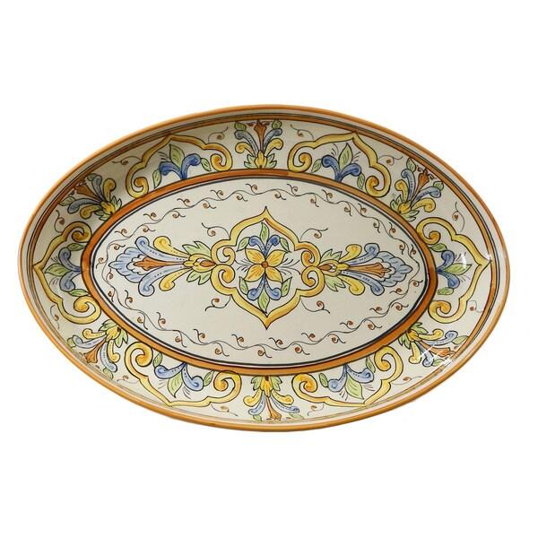 Le Souk Ceramique Salvena Design Poultry Platter