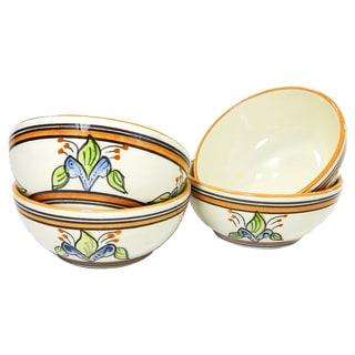 Le Souk Ceramique Salvena Design Deep Sauce/ Ice Cream Bowls (Set of 4)