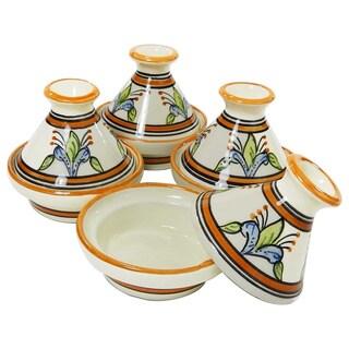 Le Souk Ceramique Salvena Design Mini Tagines (Set of 4)