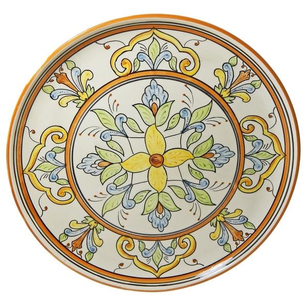 Le Souk Ceramique Salvena Design Round Platter