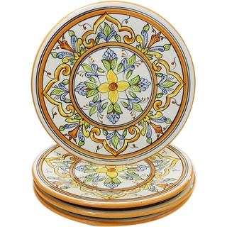 Le Souk Ceramique Salvena Design Dinner Plates (Set of 4)