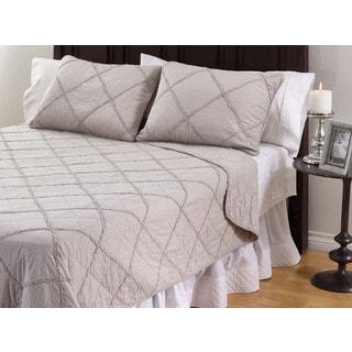 Devon 3-Piece Cotton Quilt Set