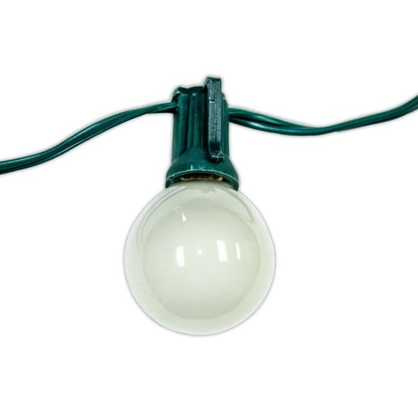 Party Lights with Green Cord