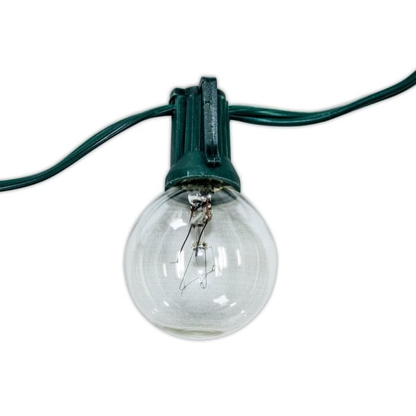 Party Lights with Green Cord and 20 Gauge Cord