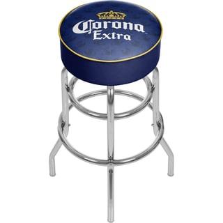 Corona Chrome Bar Stool with Swivel - Griffin