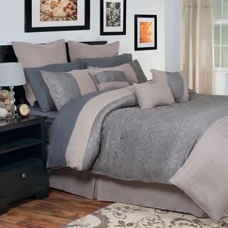 Windsor Home Jaime Oversized Embroidered 14-piece Comforter Set