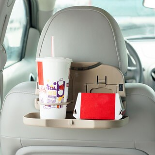 Mobile Backseat Folding Dinner Tray