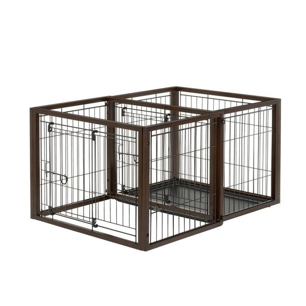 Richell Flip To Play Dog and Pet Crate