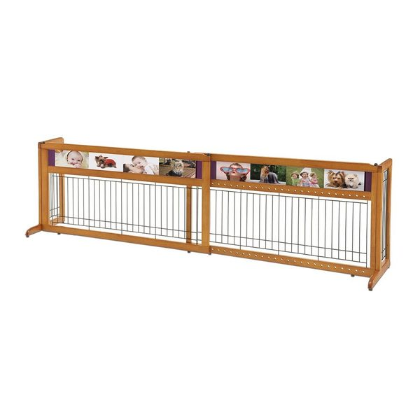 Richell Picture It Here Freestanding Pet Gate