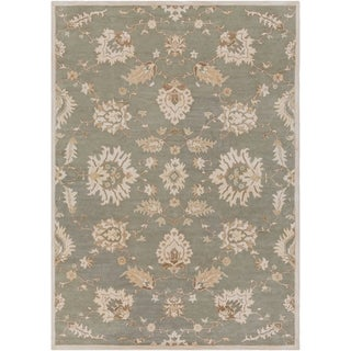 Hand-Tufted Watton Floral Wool Rug (8' x 11')