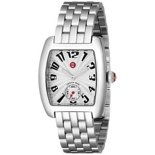 Michele Women's MWW02A000156 'Urban Mini' Stainless Steel Watch