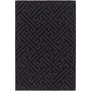 Florence Broadhurst : Hand-Loomed Mere Textured Wool Rug (8' x 10')