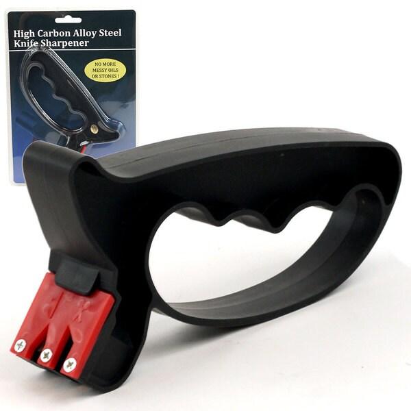 High Carbon Alloy Steel Knife and Scissor Sharpener
