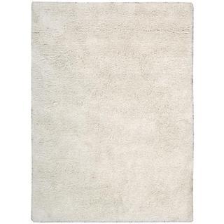 Nourison Malibu Shag White Rug (5' x 7')