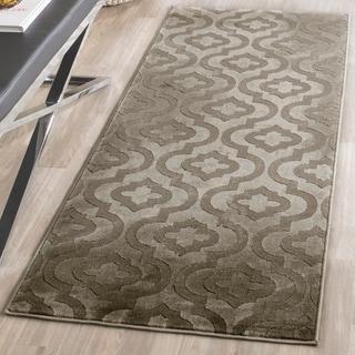 Safavieh Porcello Grey/ Dark Grey Rug (2'4 x 6'7)