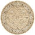 Safavieh Florenteen Ivory/ Grey Rug (5' Round)