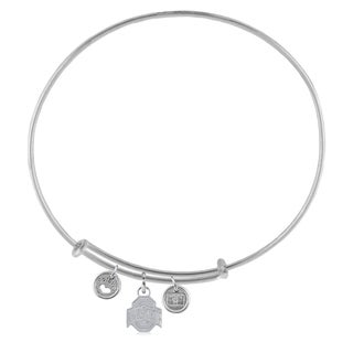 Ohio State Adjustable Bracelet with Charms