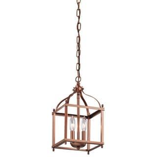 Kichler Lighting Larkin Collection 2-light Antique Copper Pendant