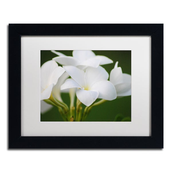 Monica Mize Picture Perfect White Matte, Black Framed Wall Art