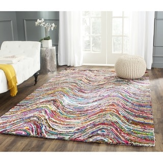 Safavieh Handmade Nantucket Multi Cotton Rug (10' x 14')