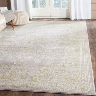Safavieh Passion Grey/ Green Rug (9' x 12')