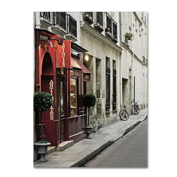 Preston 'Parisian Antiques' Canvas Art
