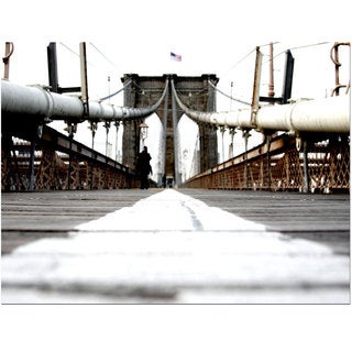 Yale Gurney 'Brooklyn Bridge' Canvas Art