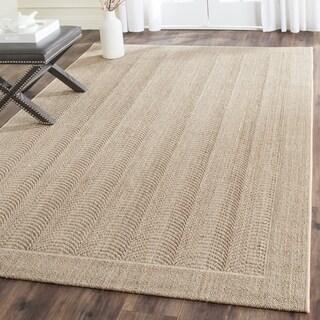 Safavieh Palm Beach Desert Sand Sisal Rug (6' x 9')