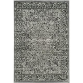 Safavieh Paradise Light Grey/ Anthracite Viscose Rug (8' x 11'2)